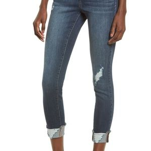 1822 ripped skinny jeans